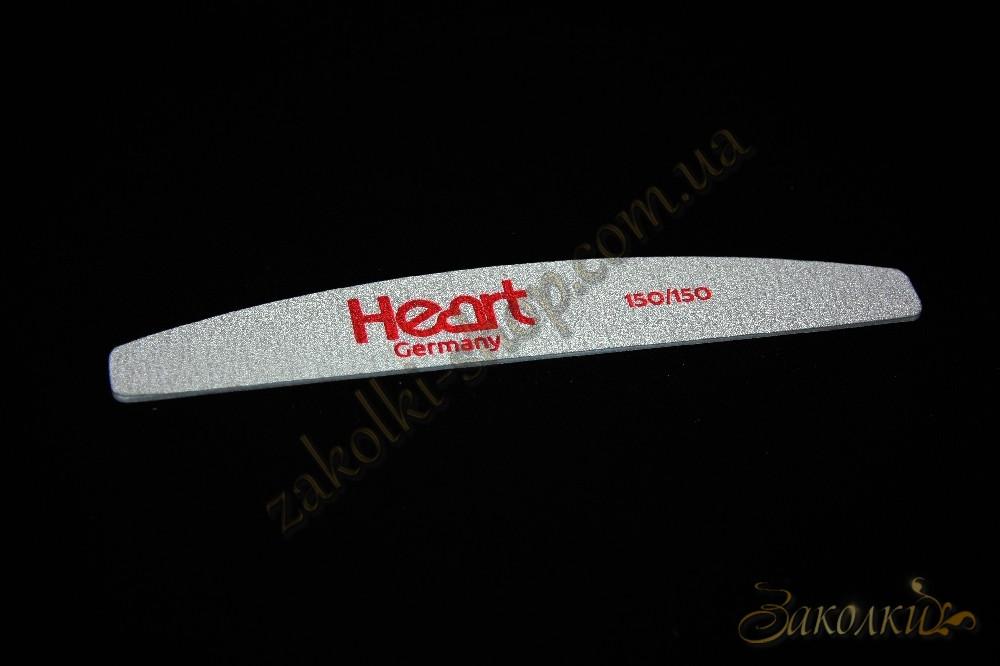 Пилка для нігтів HEART Germany 100/150 Half двостороння, 1 штука