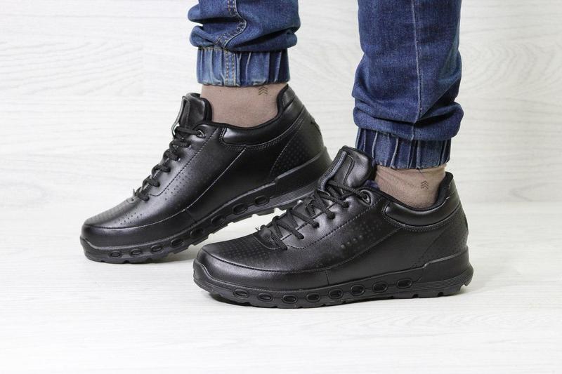 54a19f72227161 Чоловічі зимові кросівки 3740 Ecco Biom чорні, цена 1 127 грн./пара ...