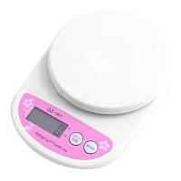 Весы кухонные 5кг точность 1гр QZ-161 цифровые