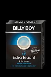 Презервативи BILLY BOY Extra feucht - Максимально вологі. (3 шт.)