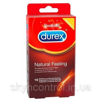 Презервативы Durex  Natural Feeling ПОЛИИЗОПРЕН ОРИГИНАЛ ( 8 шт. ), фото 2