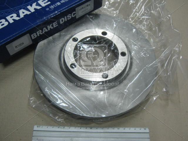 Диск тормозной передний HYUNDAI H-100 (производство VALEO PHC) (арт. R1004), ACHZX