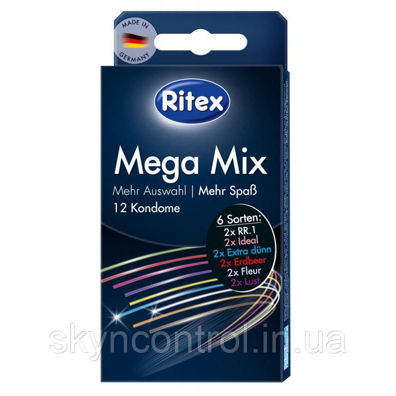 Презервативы Ritex Mega Mix (12 шт.)