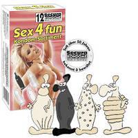 Презервативы Secura Sex4fun (12шт.)
