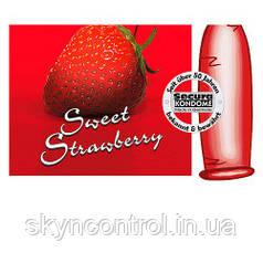 Презервативы Secura Sweet Strawberry (3 шт.)