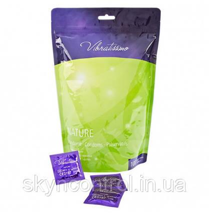 Презервативи Vibratissimo Beutel NATURE (100 шт), фото 2