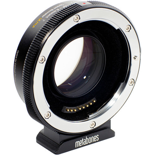 Metabones T Speed Booster Ultra 0.71x Adapter Canon EF-Mount Lens to Sony E-Mount APS-C Camera (MB_SPEF-E-BT2)