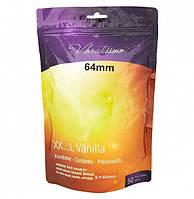 Vibratissimo Vanilla, Kondom 64mm (50 шт.)