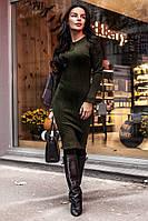 Платье фактурный трикотаж  р-ры с-м , фото 1