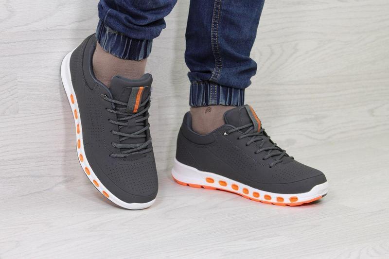 281f8be7e6fb52 Чоловічі зимові кросівки 3741 Ecco Biom темно-сірі, цена 1 127 грн./пара,  купить Хмельницький — Prom.ua (ID#626939350)
