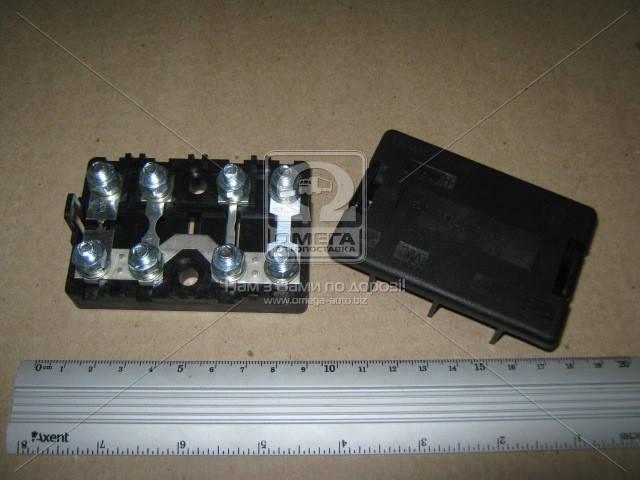Блок предохранителей ГАЗ 33104 ВАЛДАЙ (БПР-4.08) (покупн. ГАЗ) Ф5.3722.001-16
