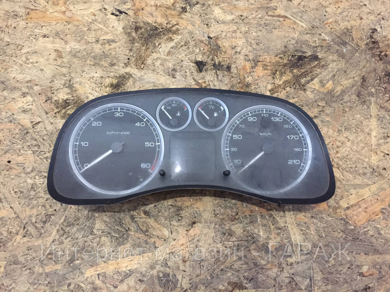 Панель приборов Peugeot 307 2.0 HDI 210км 2001-2008