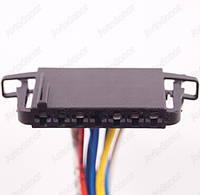 Разъем электрический 10-и контактный (45-7) б/у