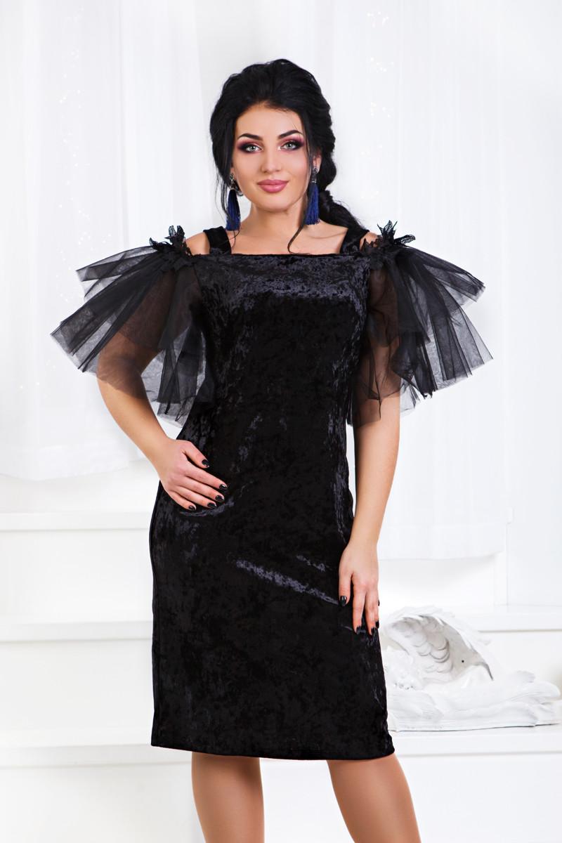 ДТ1185 Коктейльное платье размеры 50-56