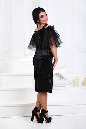 ДТ1185 Коктейльное платье размеры 50-56, фото 2