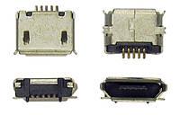 Разьем зарядки (коннектор) Nokia 8600 Luna (micro USB)/210, 2700c, 301, 3120, 3720c, 501, 515, 5230, 5310, 5610, 5800, 6500