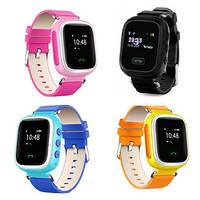 Детские часы с GPS трекером и кнопкой тревоги Smart Baby Watch Q60 (GW900s)
