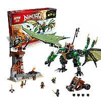 Конструктор Ninjago Зеленый дракон Ллойда 06036 Lepin, Лего ниндзяго Зеленый дракон 618 деталей