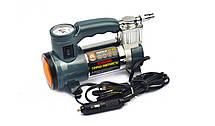 Автомобильный компрессор на прикуриватель с фонарем и 1м. кабелем, 7Атм, 30л/мин, Дорожная Карта DK31-001A                , фото 2