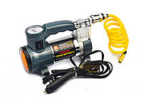 Автомобильный компрессор на прикуриватель с фонарем и 1м. кабелем, 7Атм, 30л/мин, Дорожная Карта DK31-001A                , фото 3