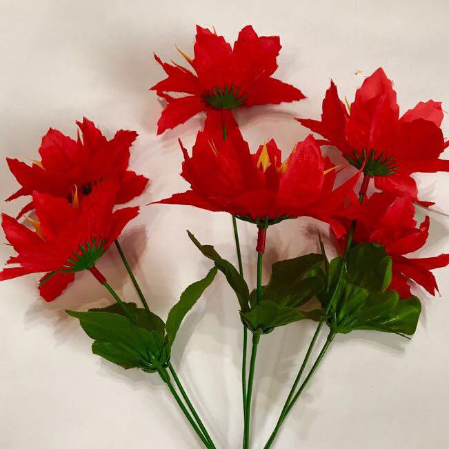 Искусственные цветы. Букет искусственный дешёвый.