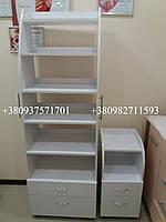 Косметологический шкаф с полками и ящиками. Модель А23 белый, фото 1