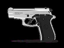 Сигнальний пістолет Retay 84FS Nickel (копія Beretta M84)