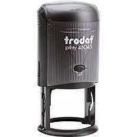 Оснастка для круглой печати TRODAT 46045, диаметр 45 мм, корпус пластиковый