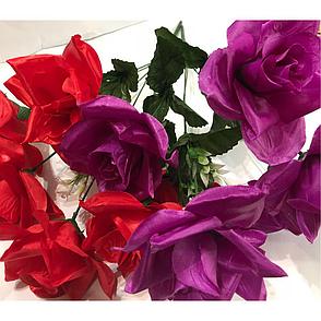Искусственный букет роза атласная., фото 2