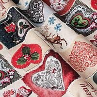 Ткань для штор Новый Год