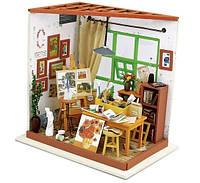 Кукольный домик «сделай сам». Мастерская художника «сделай сам». Мастерская художника