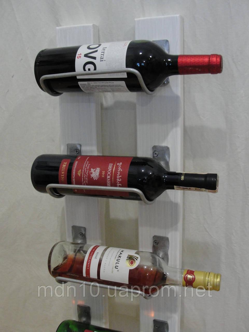 Подставка  для вина настенная - 225-5