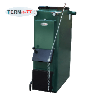 TERMit-TT 12 ЭКОНОМ  дровяной котел длительного горения   без теплоизоляции, мощность 12 кВт + RT в комплекте