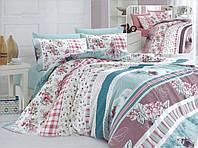 Комплект постельного белья полуторный, ранфорс 100% хлопок. Постільна білизна. (арт.8756)