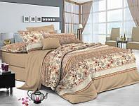 Комплект постельного белья полуторный, ранфорс 100% хлопок. Постільна білизна. (арт.8757)