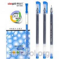 Ручка гелевая Depli GP-1026 синяя