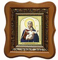 Аз есмь с вами и никтоже на вы икона Богородицы