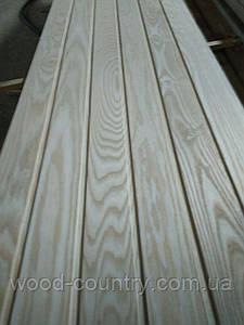 Вагонка из ясеня 90мм от 2000 - 3100,0 мм. Высший сорт