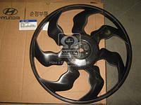 Крыльчатка вентилятора охлаждения Hyundai Elantra 06-/I30 07-/Kia Ceed 06- (производство Mobis) (арт. 252312H000), ACHZX