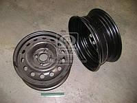 Диск колесный 14х5,5 4x100 Et 49 DIA 56,56 DAEWOO черн. (производство КрКЗ), AEHZX