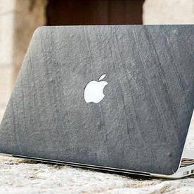 Накладка из натурального камня для macbook. Невероятный метод обработки.