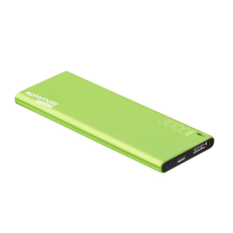 Аккумулятор Promate Energi-3 Green