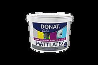 Фарба інтер'єрна для стін та стелі  1,4 л Donat  Mattlatex