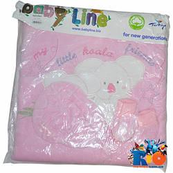 Детский конверт на выписку для новорожденных на кнопках и молнии