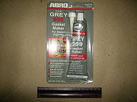 Герметик прокладок 85гр серый 999 ABRO, AAHZX