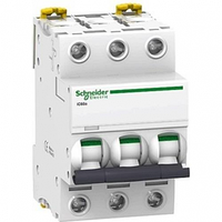 Автоматический выключатель iC60N, 3P 25A хар-ка В, 6кА, A9F78325, Schneider Electric