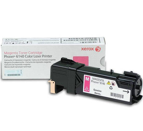 Тонер картридж Xerox PH6140 Magenta, фото 2