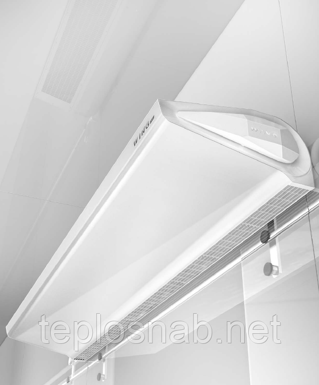 Тепловая завеса Wing E100 EC 2-15 кВт с электрическим нагревом