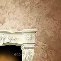 Декоративное покрытие жидкий шелк в интерьере №284