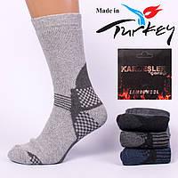 Мужские ароматизированные носки шерсть махра Kardesler AS9002. В упаковке 12 пар. Турция.